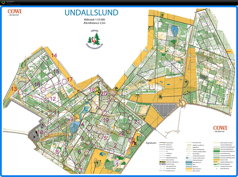 Ifk Lob Undallslund May 14th 2019 Orienteering Map From Jess